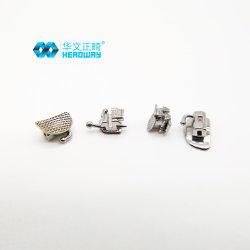 高品質金属中国正光学医療用自己リガンド歯科用ブラケット