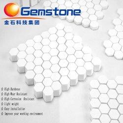 92% 95% de alta alumina Azulejos hexagonais peças do mosaico cerâmico