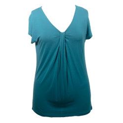 Het In te ademen Overhemd van dames, de Toevallige Bovenkant van Vrouwen, de Kleding van de Manier, Stevige Kleding