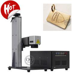 플라스틱 식사 보석 절단기 PCB 전화 상자 표하기 조각을%s 기계를 인쇄하는 작은 휴대용 섬유 Laser 절단 3D 로고