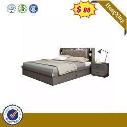 현대적인 홈 침실 가구, 목재 옷장, 매트리스, 퀸 킹 더블 사이즈 침대 프레임