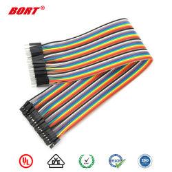 2La broche 3 de la broche 9 multi-broches Broche UL 2468 Fil Câble ruban personnalisé
