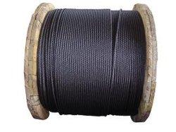 Filo di acciaio ad alta resistenza d'imballaggio della molla del collegare d'acciaio 0.4mm della molla della corda 1910-2250n/mm2 del filo di acciaio della bobina nera dell'olio