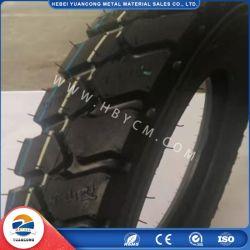 Fabrik-preiswerter Preis-natürlicher schwarzer Gummibutylschrott weg Motorrad-Gummireifen-inneren dem Gefäß von der Straßen-300-18