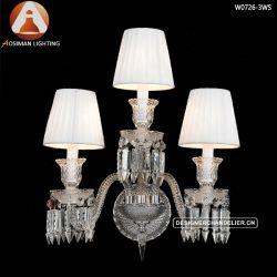 Lamp van de Blaker van het Baccarat van de Glans van de Muur van het kristal de Lichte Moderne Franse