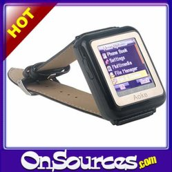Pantalla táctil tribanda Mini reloj teléfono GSM - MP3/MP4 Bluetooth
