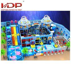 Matériel de jeu professionnel, multijoueur enfants commercial de l'équipement de terrain de jeux intérieure