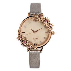 Fleur de luxe et de la surface du diamant Women Watch Montres de mode pour mariage et de la datation
