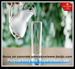 Polycarboxylate Superpalsticizer come fermo concreto di crollo (soddisfare solido di 50%)