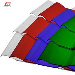 China Fabricação de isolamento térmico oco de PVC plástico Twin-Wall Telha UPVC telhas de folhas