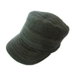 بايسبول يحبك قبعة مع قمة ([هب-ك031])