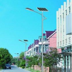 120*1PC Mono LED du panneau cristalline Rue lumière solaire avec pôle