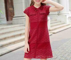 아이들 아이 소녀 아이들 형식 의류 의복 의복을 입는 최신 나비 넥타이 학동 작성 복장