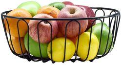 Todo en uno de los frutos secos Snacks Large-Capacity Hogar Cesta Cesta de Frutas Canasta de almacenamiento de frutas y verduras para el hierro