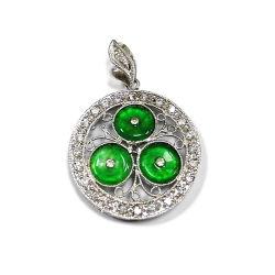Birthstone Charm Jewellery China Wholesale Silver 925 Necklace Pendant Jewelry