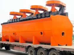 Économie d'énergie de la machine de flottation cellule de flottation pour les minerais de minerai d'or du minerai de cuivre, minerai de sulfure