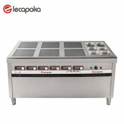 Kochen der Geräten-Handelsberufsküche, die Geräten-Nahrungsmittelgaststätte-Gerät kocht