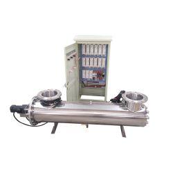 Piscina de tratamiento de agua equipo de desinfección UV