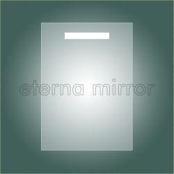 Fluorescentes T5 IP44 miroir de courtoisie rétroéclairé pour salle de bains W50XH70cm