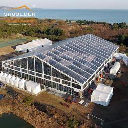 500 شخص خيمة زفاف كبيرة من طراز PVC مقاومة للماء من طراز ماركيز للخارجية الحدث