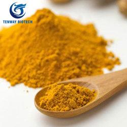 Alimentos 100% Natural Extracto de cúrcuma en polvo de pigmento en la fábrica bajo precio
