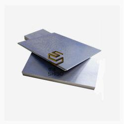 99,95% de molibdénio (moly) Folha polido, Placa de Mo para equipamento de Vácuo