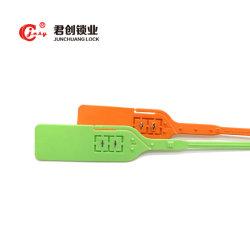 Jcps210 403mm impresión personalizada PP tire de la seguridad de bloqueo apretado el sello de plástico