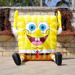 Kundenspezifisches riesiges Nizza aufblasbares Spongebob Maskottchen für Bildschirmanzeige