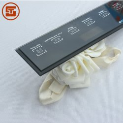 Soem-elektrisches dekoratives Noten-Steuerwand-Schalter-Bildschirm-Licht-Glas-Panel