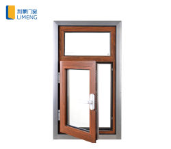 Высокое качество тепловой Break алюминиевая дверная рама перемещена в деревянной цветной