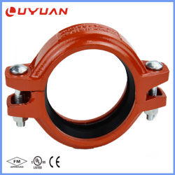 Ductile Iron ASTM - A536 Grooved Pipe Fitting for Fire Protection System