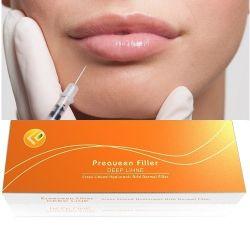 L'acide hyaluronique injectable par voie cutanée pour les soins du visage de remplissage