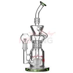Les tuyaux à eau en verre, le tabagisme Le tabagisme en verre du tuyau de pipe à eau pour l'usine de gros
