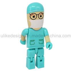 Горячая продажа доктор мультфильм пластиковые флэш-накопитель USB / USB Flash Drive/USB Memory Stick™
