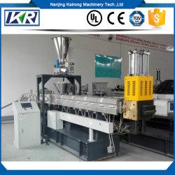 Venda quente Nanjing Kairong Eet-75b grânulos reciclado Masterbatch enchimento plástico/Plástico Preto grânulos reciclado