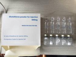 白くなる注入のためのGMPによって証明されるグルタチオン600mg +水4ml
