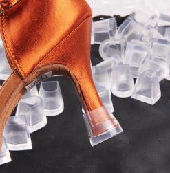 América Salsa Rumba Tango Dança de Salão sapatos protectores do calcanhar, capim de casamento calcanhar elevado equipamento protector, Caps