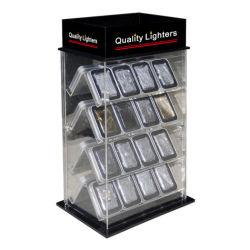 L'acrylique Briquet Zippo, cas d'affichage pour Scripto, Ronson & la plupart des marques de cigarettes et cigares Tobaco memorabilia