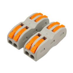 PCT 2p che impiomba connettore rapido per 0.2-4.0sqmm tutti i tipi conduttori