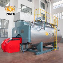 15t/h Wns chaudière à vapeur alimentées au gaz industriel d'huile