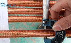 L'alta qualità si è sporta tubi di aletta bassi