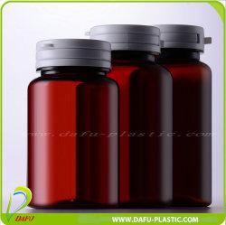 100ml 250ml Haustier-Medizin-Plastikflasche mit zerreißender Schutzkappe