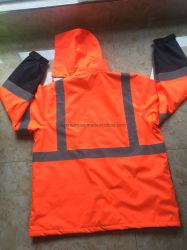 Ventes en gros Oxford/PU Vêtements de travail d'hiver populaire veste pour hommes