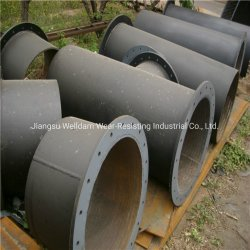 Настраиваемые большого размера с износостойкими трубопровод трубки для цементной промышленности