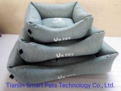 Rectangle en daim imperméable Pet chien chat lit confortable chambre