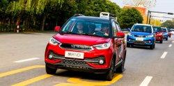 120km/Hour snelheid die snel 380km het Elektrische voertuig van de Afstand in mijlen laden