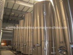 Tanks van de Wijn van het Roestvrij staal van de wijn de Gisting Gebruikte