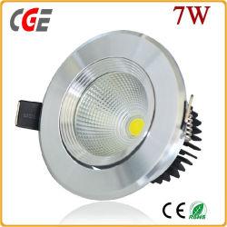 ホテルのスポットライト3With5With7With9With12With15W LED Downlight LEDはLEDのスポーツライト天井灯の点ライト穂軸LEDライトをつける