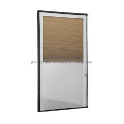 Stores plissés Honeycomb cellulaire interne pour l'isolation des fenêtres en verre portes