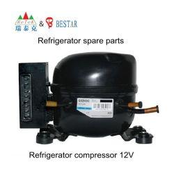 ضاغط ثلاجة بثلاجة يعمل بالطاقة الشمسية بجهد 24 فولت وبقوة 4 فولت وقدرة 4 فولت وقدرة 4 أمبير يعمل بالتيار المستمر